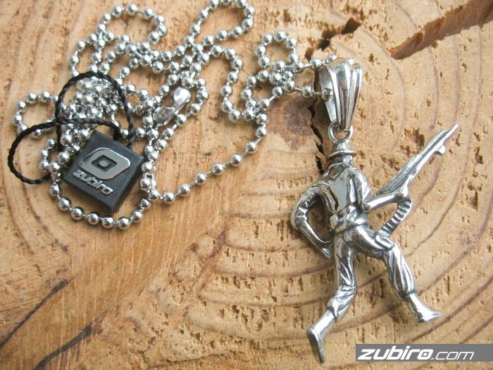 militarna biżuteria męska żołnierz