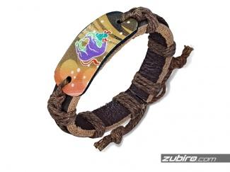 Biżuteria ze znakami zodiaku bransoletki sznurkowe