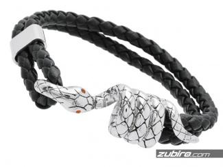 Bransoletka męska z wężem
