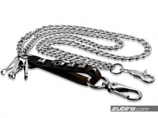 Metalowe łańcuchy do spodni