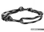 linka żeglarska szara bransoletka męska