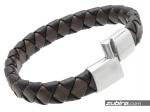 Brązowo-czarna bransoletka dla mężczyzny