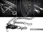 łańcuchy do spodni z krzyżem