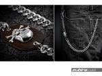łańcuch metalowy do spodni