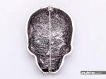 broszka czaszka męska