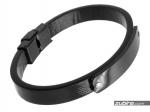 bransoletka z czarnej stali