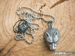 zawieszka wilka biżuteria z motywem zwierząt