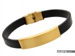 modne bransoletki ze złotej stali