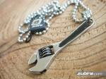 Klucz szwedzki do śrub klucz angielski naszyjnik męski