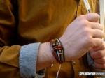nowoczesne bransoletki z koralików dla mężczyzn
