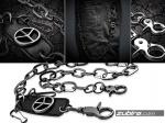 łańcuch męski metalowy ozdobny