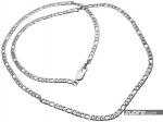 Łańcuszek 4mm splot figaro
