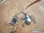 zawieszka dla faceta pająk realizstyczny
