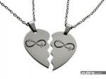 przykładowy grawer na sercach biżuteria dla zakochanych