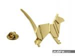 Przypinka do marynarki kot origami