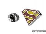 Przypinka męska Superman
