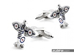 Spinki samolot spitfire