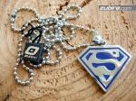 Supermen zawieszka na prezent dla chłopaka