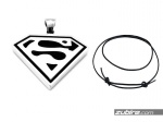 Zawieszka znak Supermena prezent Dzień Ojca