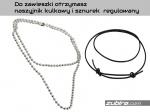 naszyjnik i sznurek do każdej zawieszki na zubiro.com