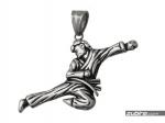 prezent karate zawieszka męska