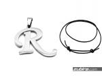 Zawieszki ze stali litera duża R