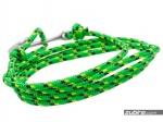 zielony paracord z kotwicą