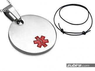Naszyjnik medyczny koło