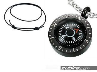 Naszyjnik męski kompas NU236