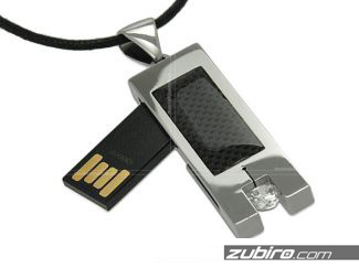 Naszyjnik pamięć USB