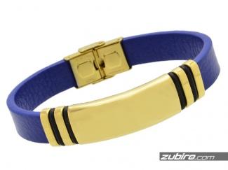 Niebieska bransoletka dla mężczyzny