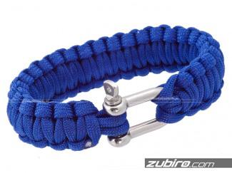 Niebieska bransoletka męska