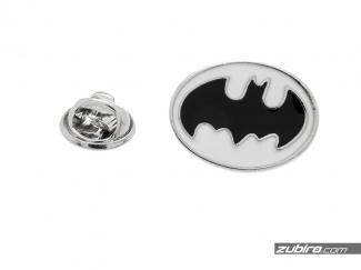 Pin męski w kształcie logo Batmana