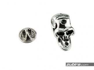 Pinsy z czaszką dla mężczyzn