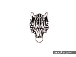 Piny metalowe wilk