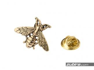 Przypinki męskie pszczoła złota