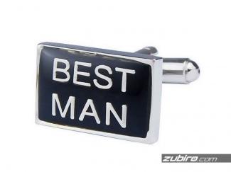 Spinki do mankietów dla najlepszego mężczyzny
