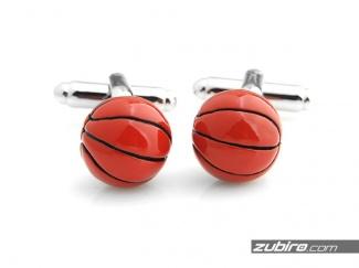 Spinki mankietowe piłki do koszykówki