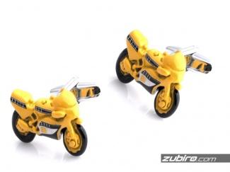 Spinki męskie motor