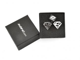 Spinki męskie z logo Supermana