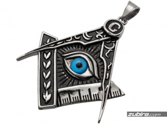Wisiorek Masońska symbolika wolnomularstwo