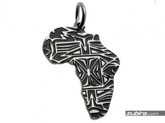 Zawieszka w kształcie Afryki kontynent
