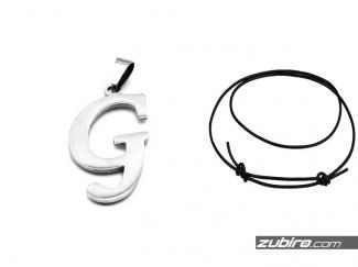 Zawieszki litery alfabetu G