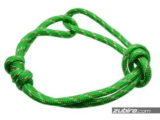 Zielona bransoletka męska regulowana