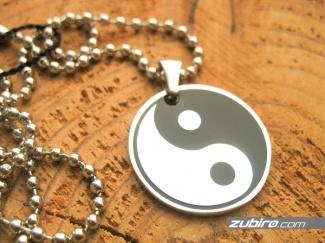 Znak yin yang biżuteria dla mężczyzny